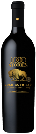 1000 Stories Gold Rush Red Blend 2016 Image